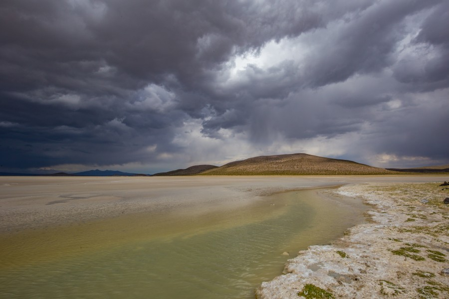 Dark skies around Laguna Saquewa. ©G. Donaldson.