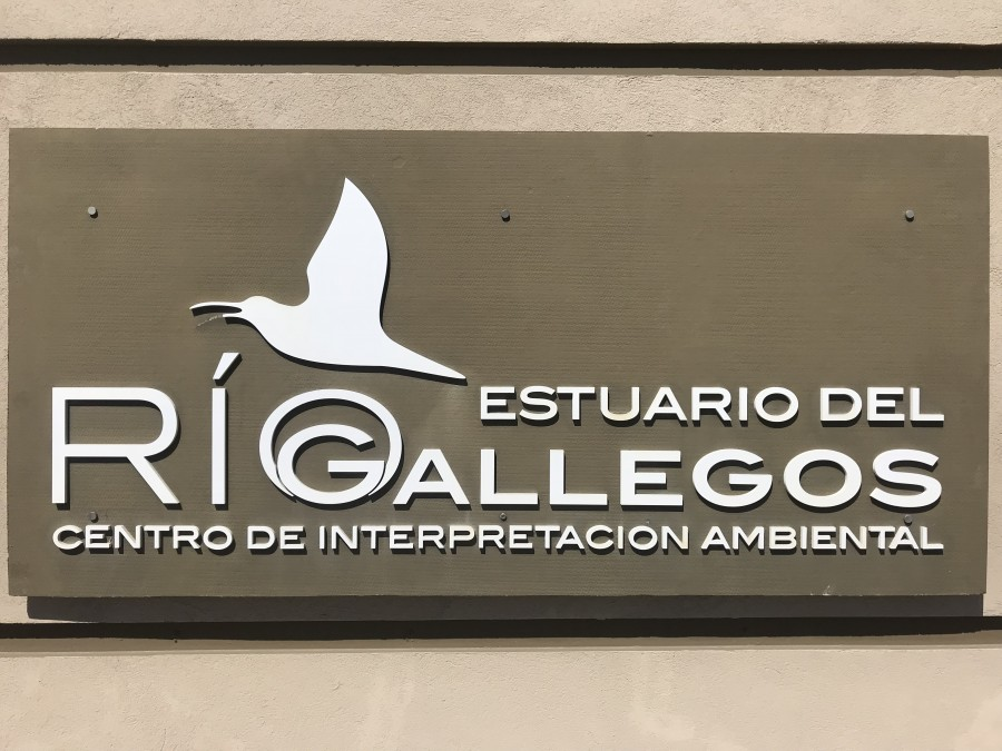 Rio Gallegos Centro sign