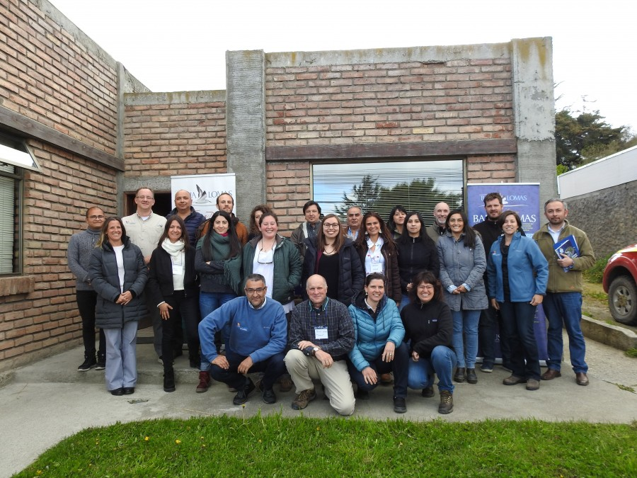 Workshop Group in Punta Arenas
